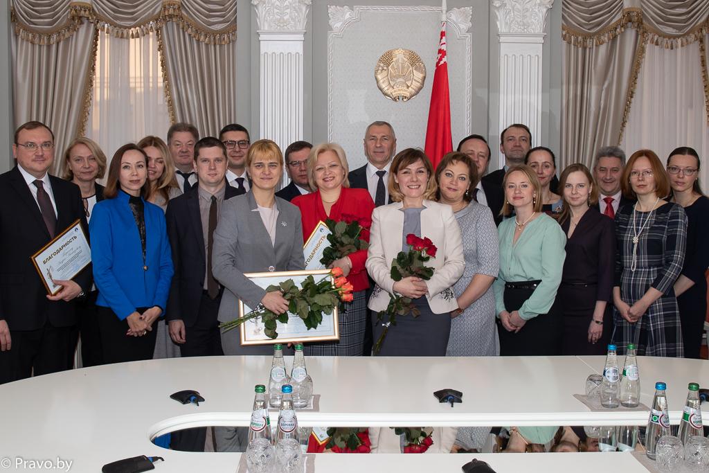 Награждение членов Союза юристов