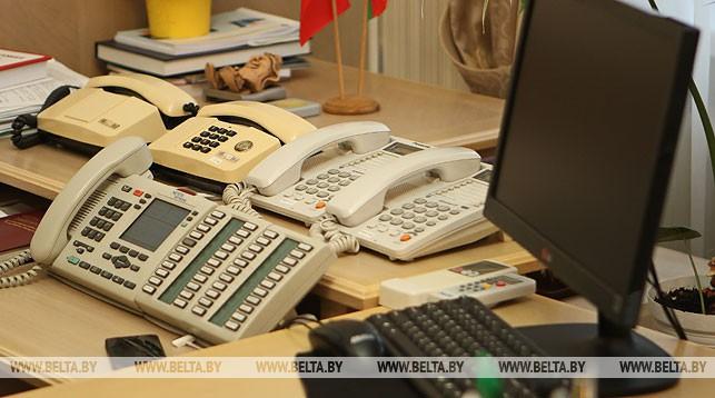 Мингорисполком и облисполкомы 25 января проведут прямые телефонные линии
