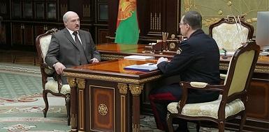 Александр Лукашенко и Андрей Швед