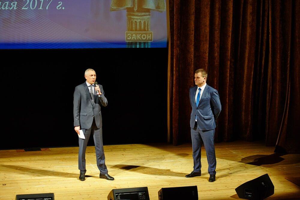 Церемония награждения победителей республиканского конкурса информационных материалов на правовую тематику на приз имени В.Д.Спасовича