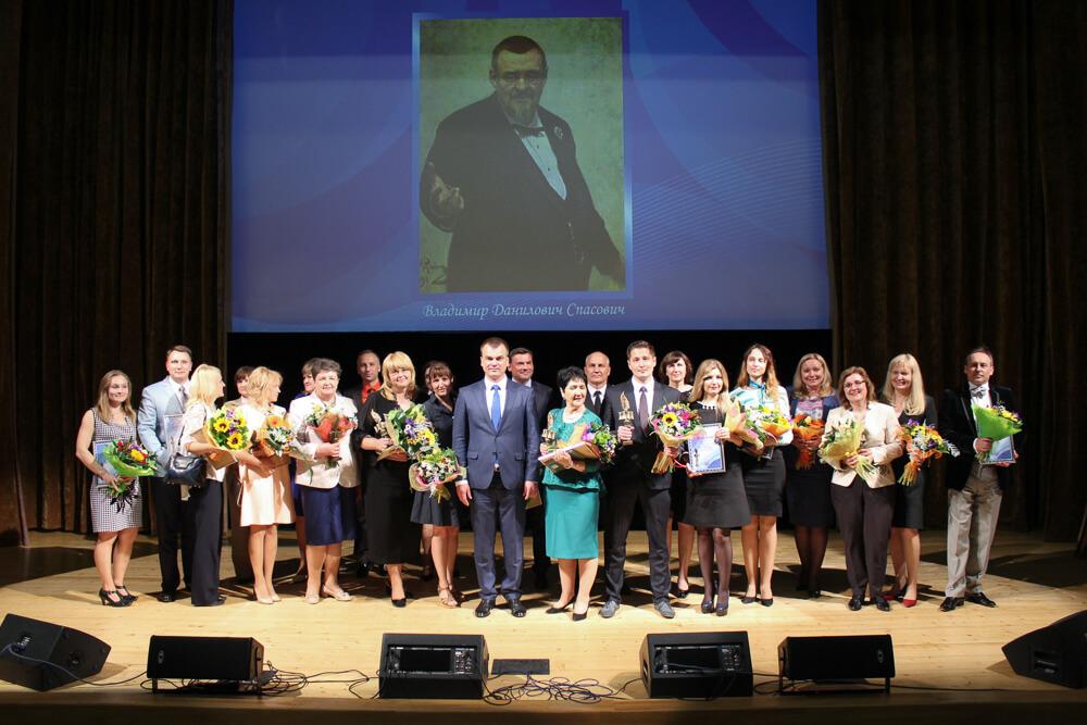 Церемония награждения победителей республиканского конкурса информационных материалов на правовую тематику на приз имени В.Д. Спасовича